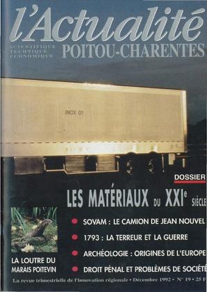 L'Actualité Poitou-Charentes, numéro 19, décembre 1992