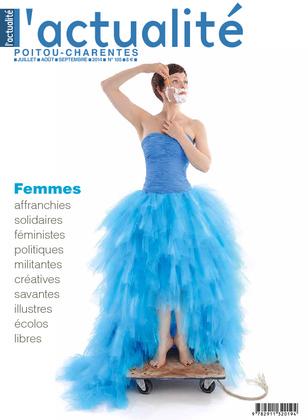 L'actualité Poitou-Charentes, numéro 105, juillet, août, septembre 2014.